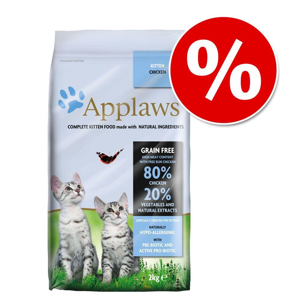 2 kg Applaws Senior + 8l Greenwoods Plant Fibre Kattegrus