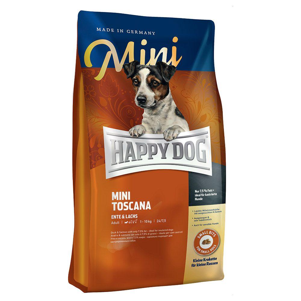 Happy Dog Supreme Mini Toscana - Economy Pack: 2 x 4kg