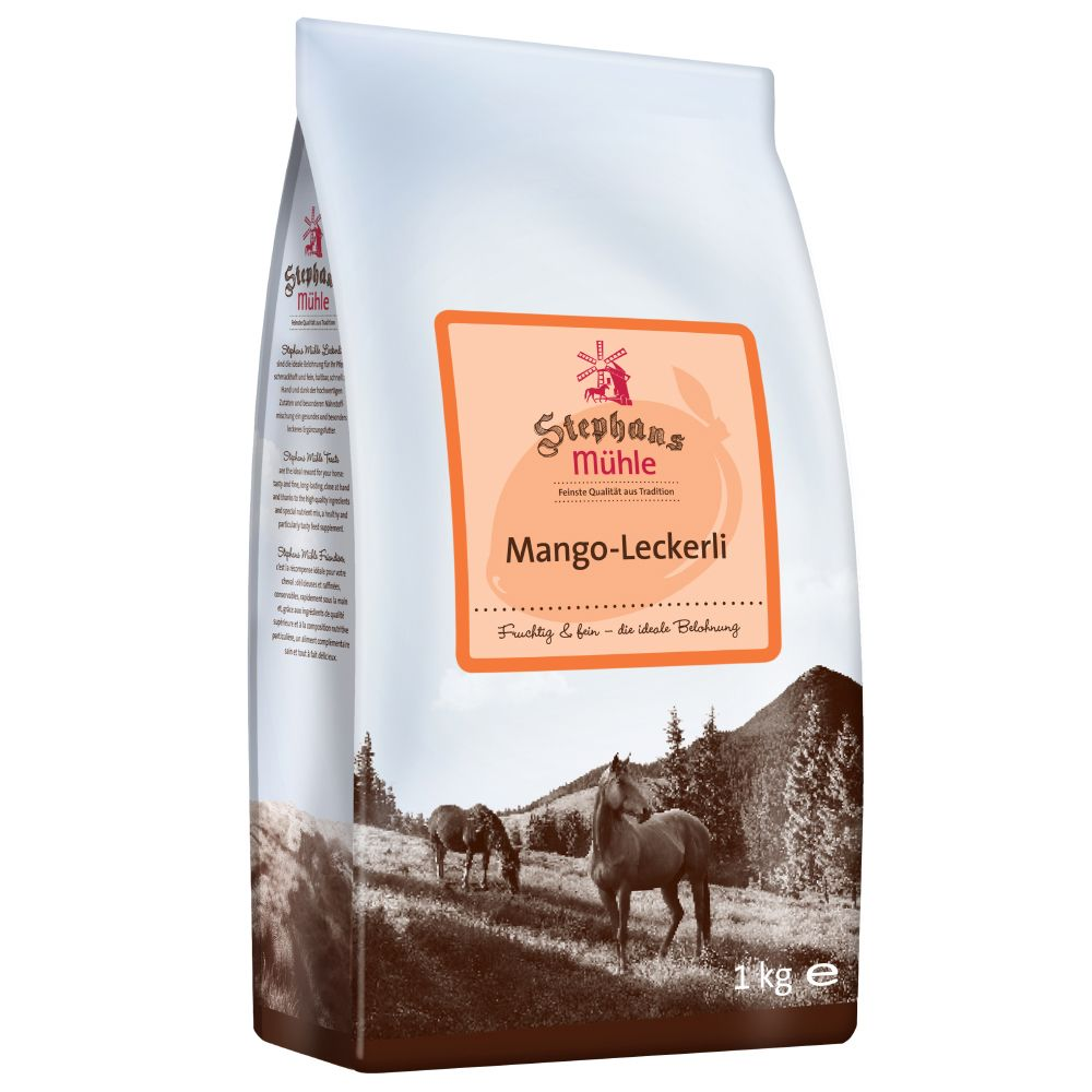 Stephans Mühle Horse Treats - Mango - 1kg