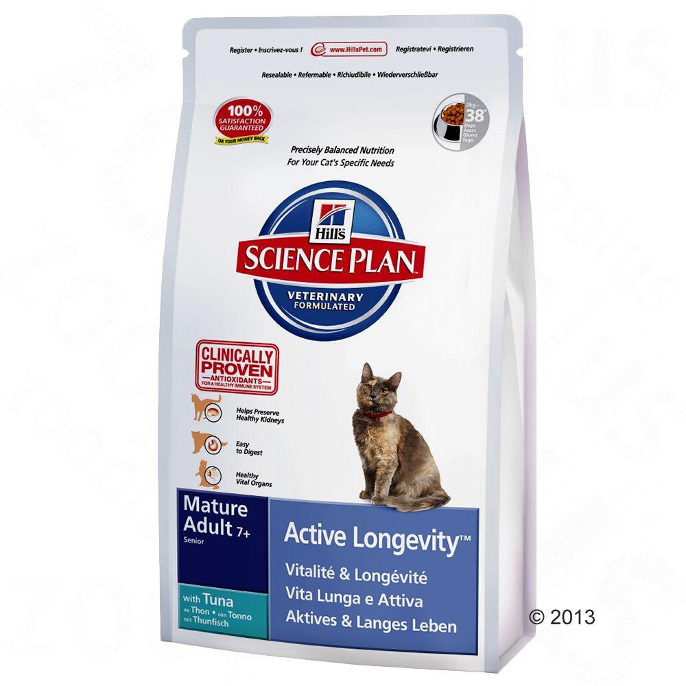 Hill's Feline Mature 7+ Active Longevity, tuńczyk - 2 kg