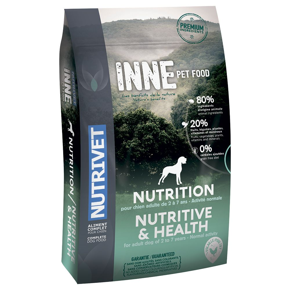 Nutrivet Inne Nutritive Dry Dog Food - 12kg