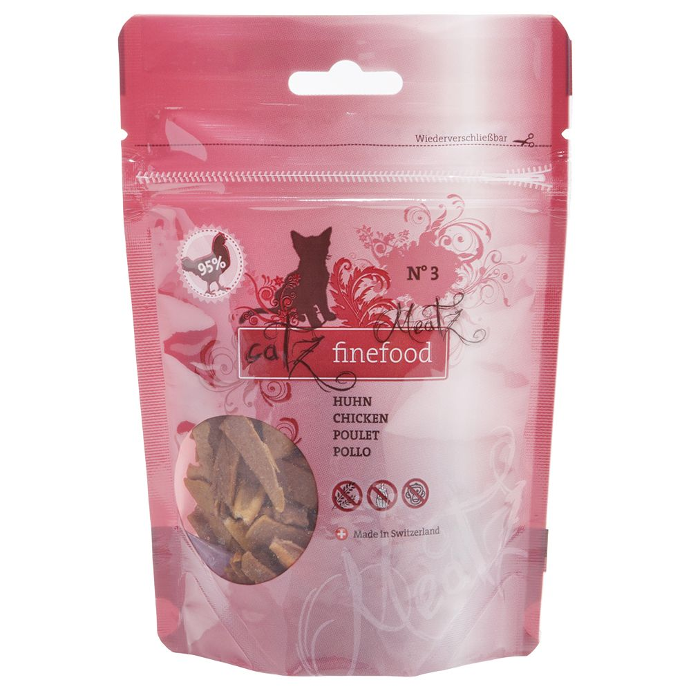 Catz Finefood Meatz Treats - Mixed Pack: 1 x Chicken & 1 x Veal
