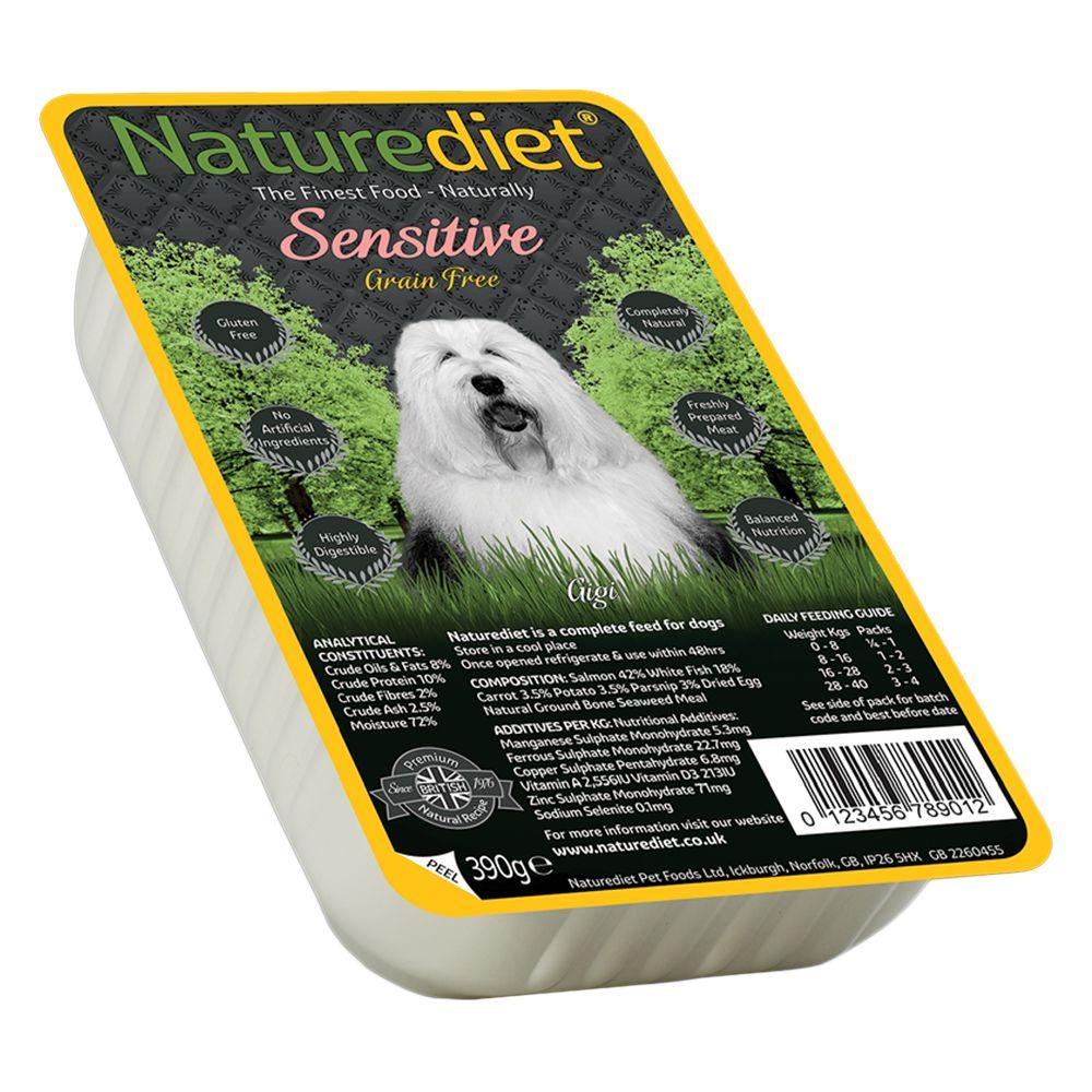 Naturediet Adult - Grain Free Sensitive Salmon - 18 x 390g