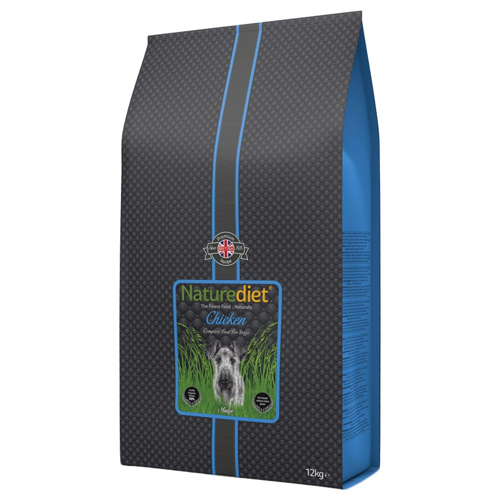 12kg Naturediet Dry Dog Food - Triple Loyalty Points!* - Adult Chicken & Lamb (12kg)