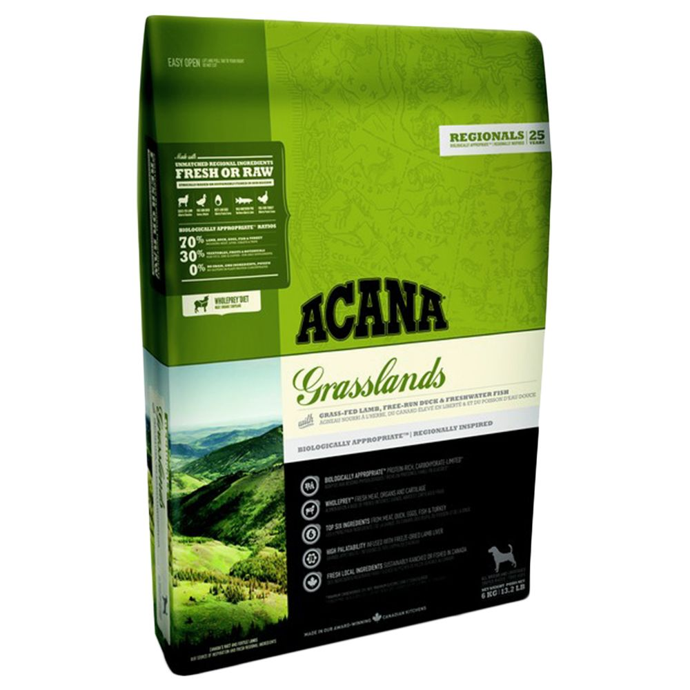Acana Regionals Grasslands Dry Dog Food - 6kg