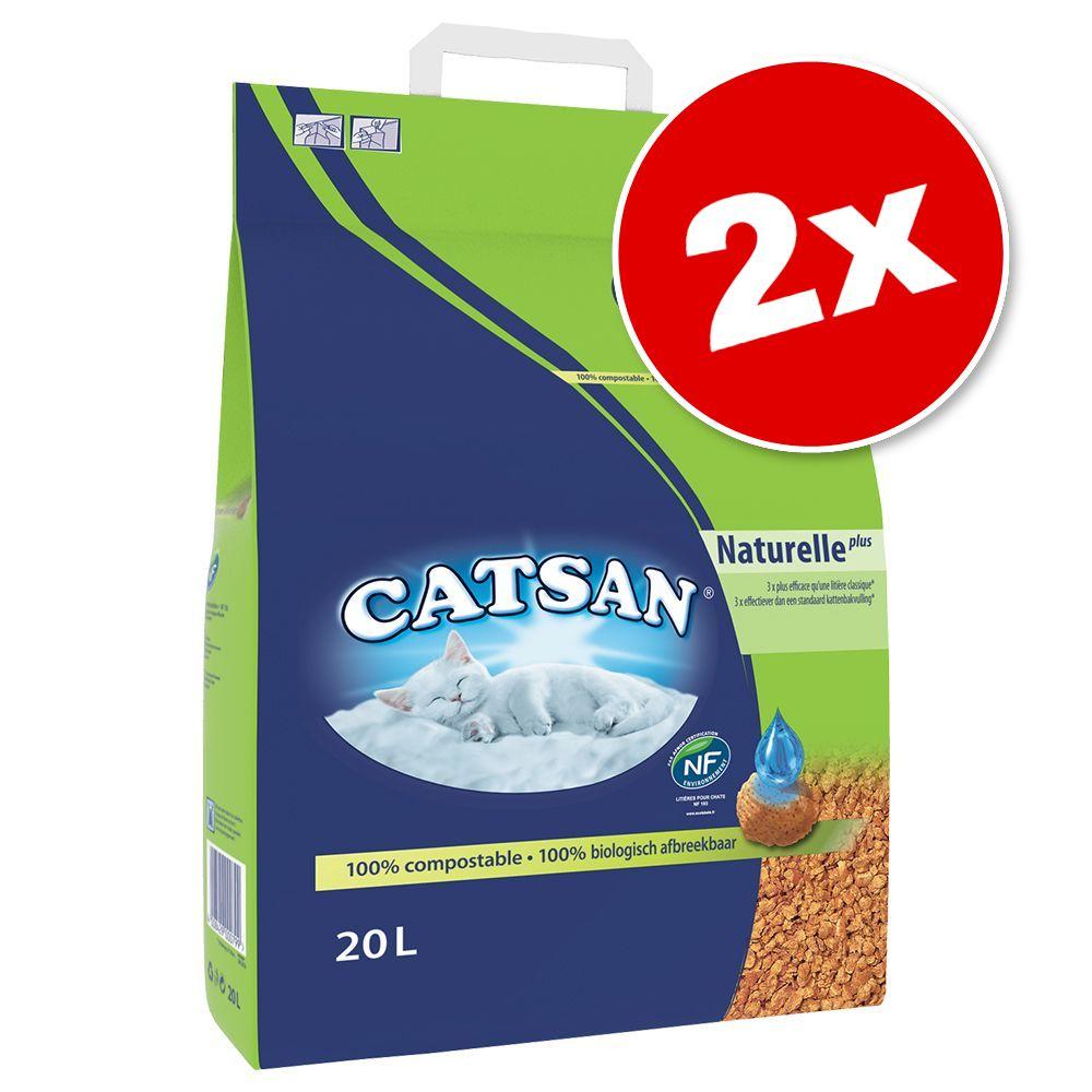 2x8L Catsan Active Fresh - pour chat