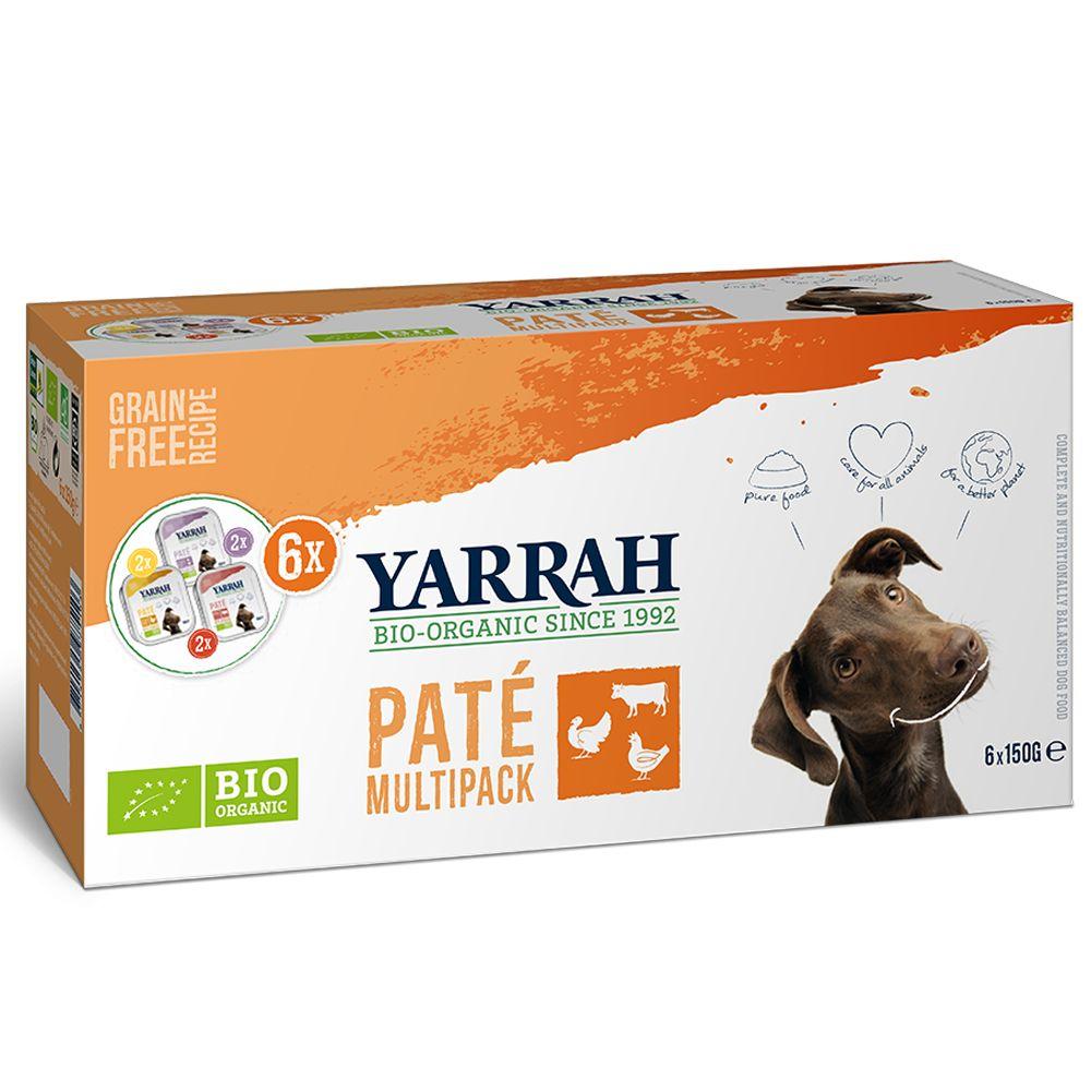 Yarrah Bio Wellness Pate Multipack 6 x 150g