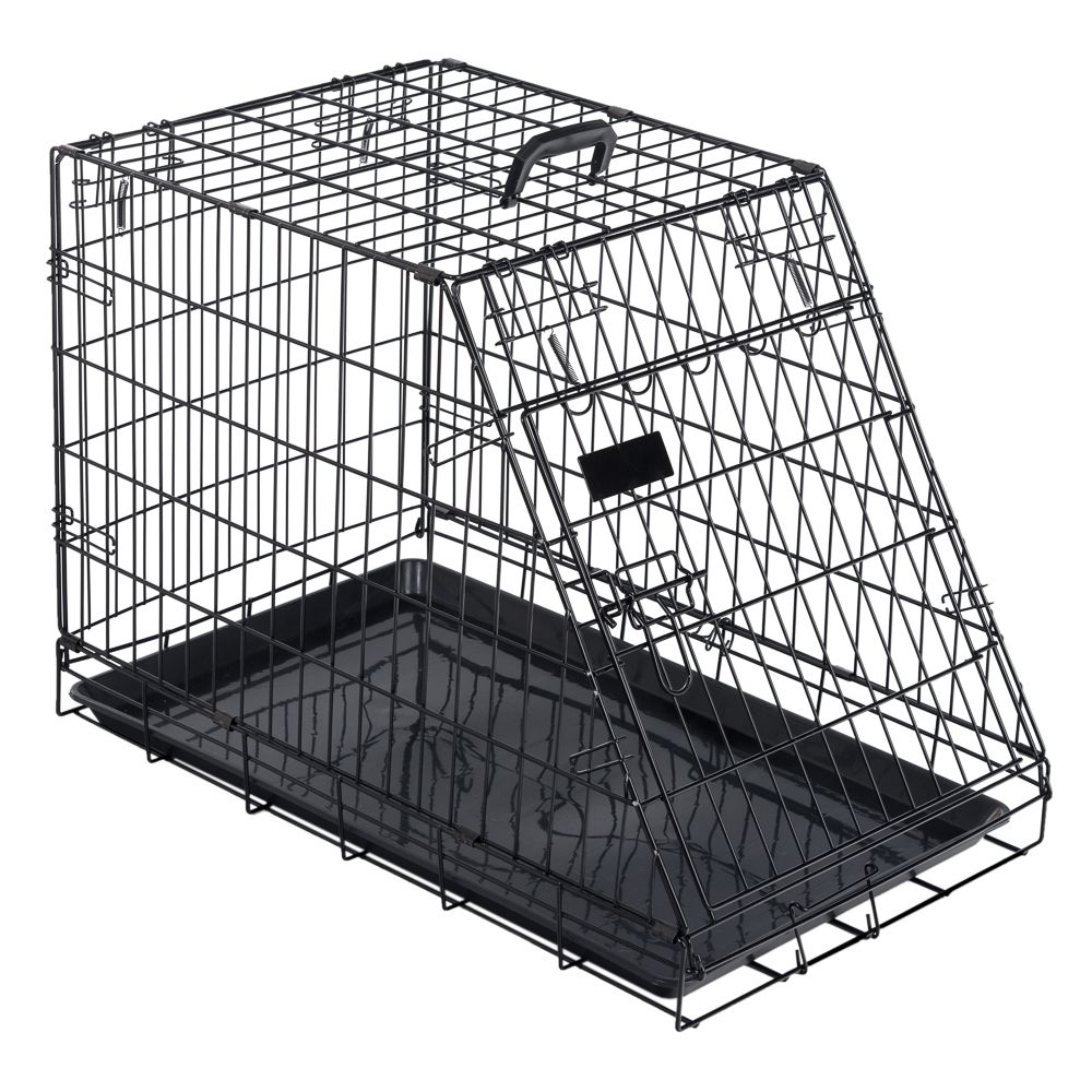 Sloping Ruby Transport Cage - 78x48.7x56cm (LxWxH)