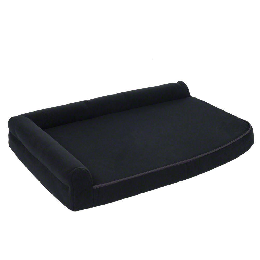 Visco Orthopaedic Dog Sofa Black