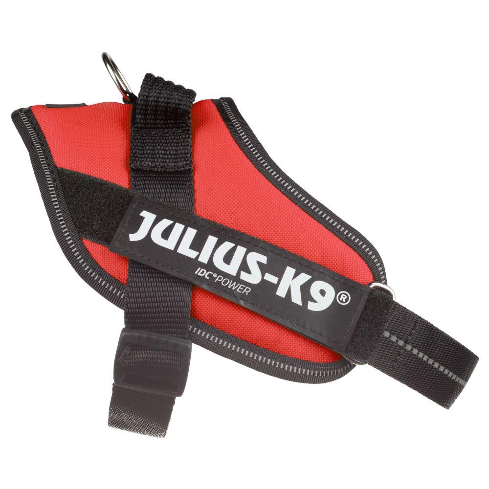 JULIUS-K9 IDC®-Powergeschirr - rot - Größe Mini: Brustumfang 49 - 67 cm