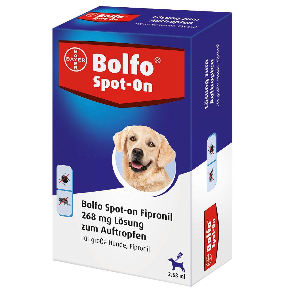 Bolfo Spot-on große Hunde bis 40 kg - 3 Pipette...