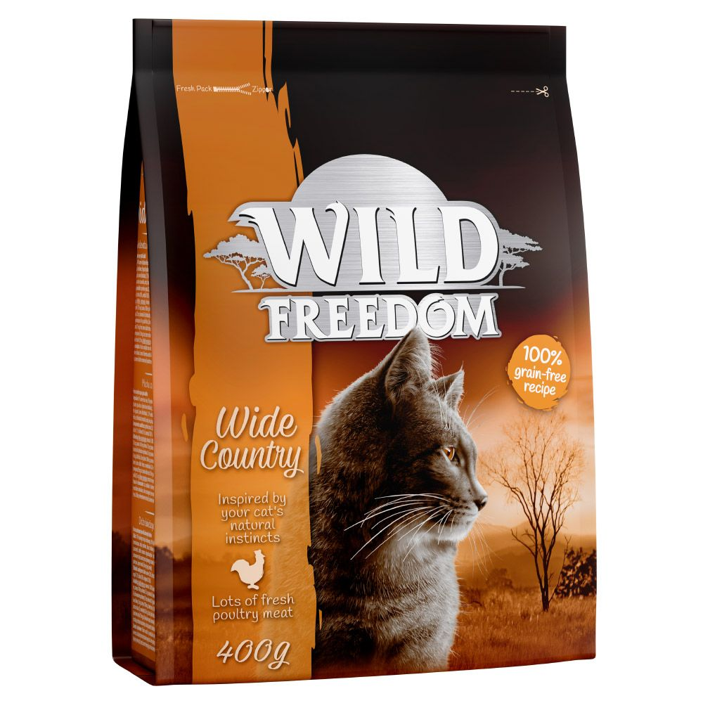 12 x 280g Cosma Nature + 400g Wild Freedom Wide Country Free