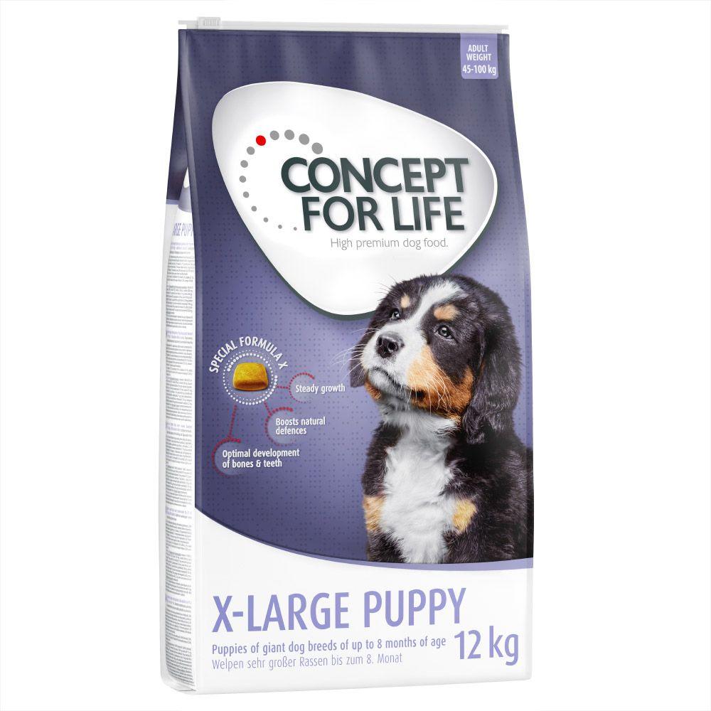 Image of Concept for Life X-Large Puppy - 6 kg