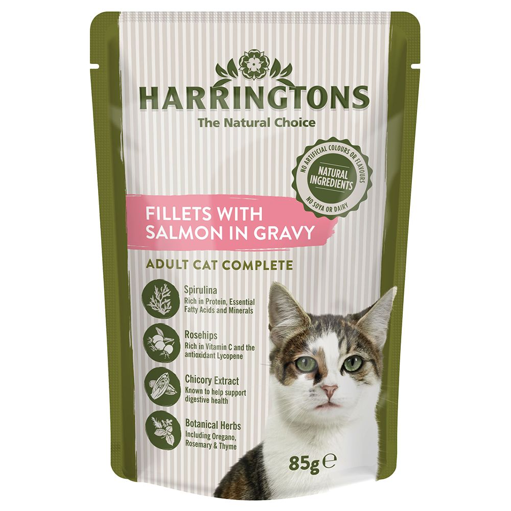 Harringtons Complete Adult Cat Salmon in Gravy