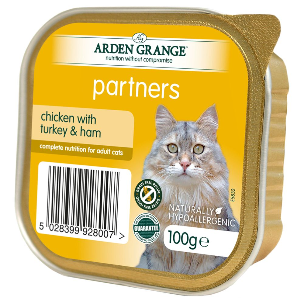 Arden Grange Adult Cat Chicken with Turkey & Ham