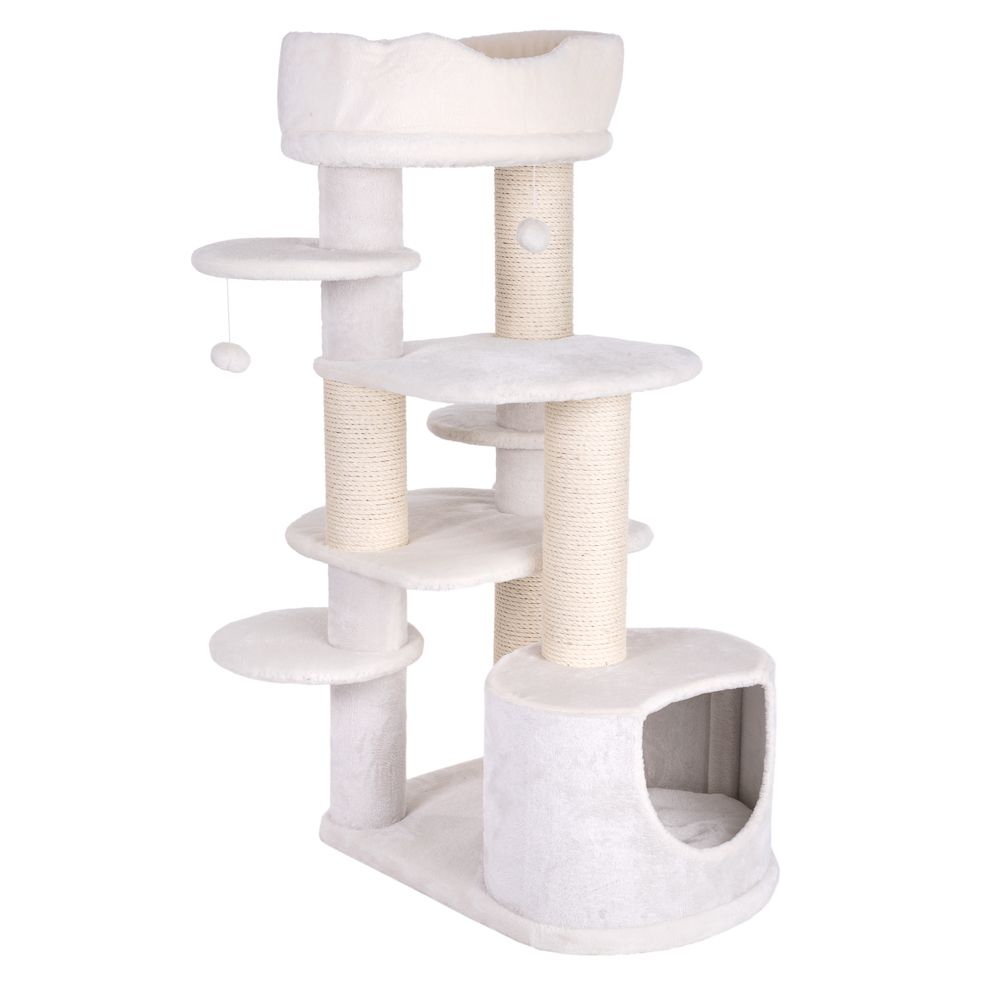 Penelope's Dream Cat Tree - White (2 packages)