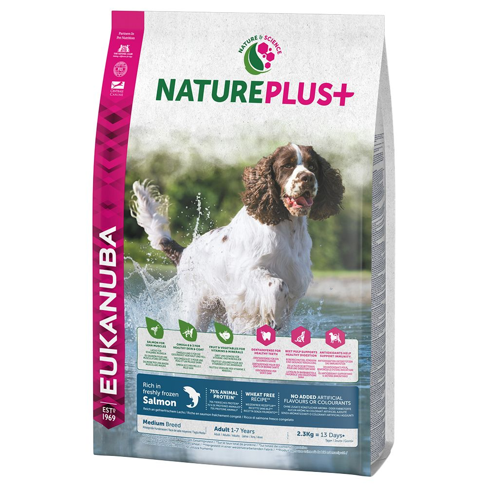 Eukanuba NaturePlus+ Medium Adult Salmon