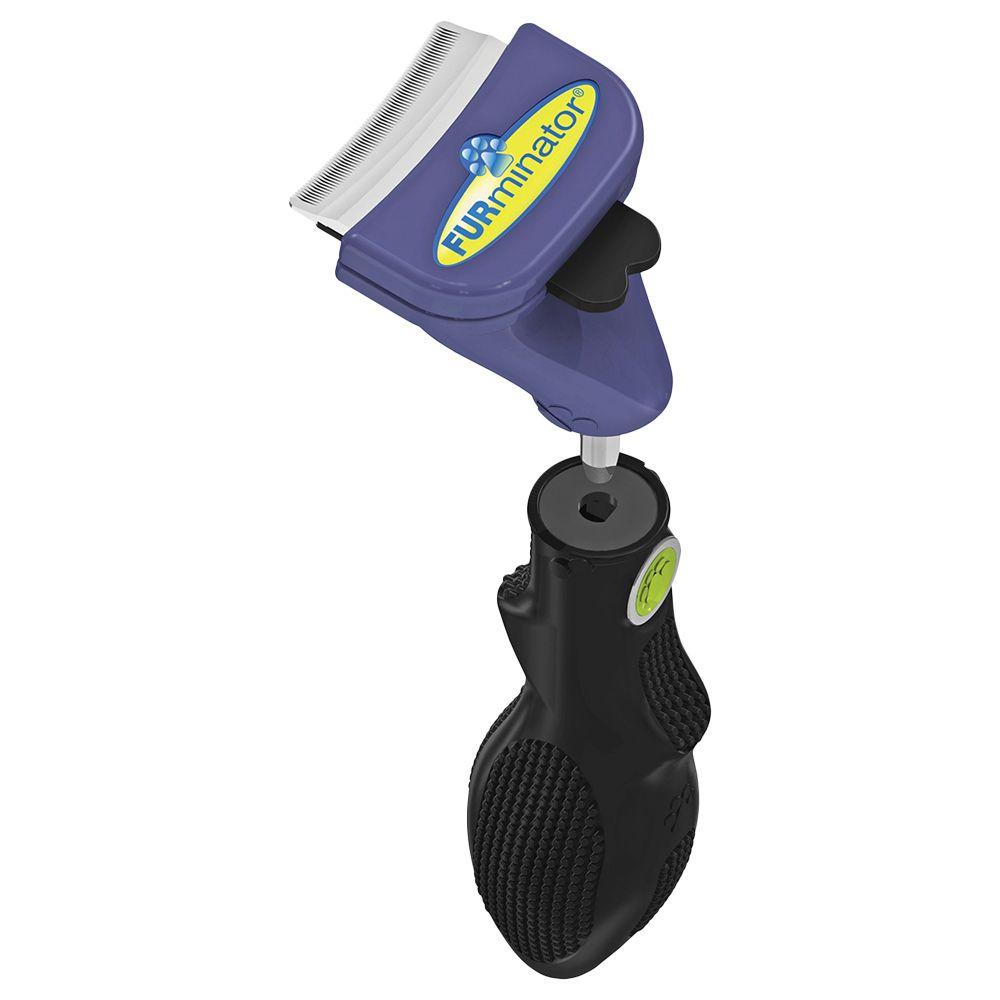 FURminator FURflex deShedding Head & Handle for Small Breeds
