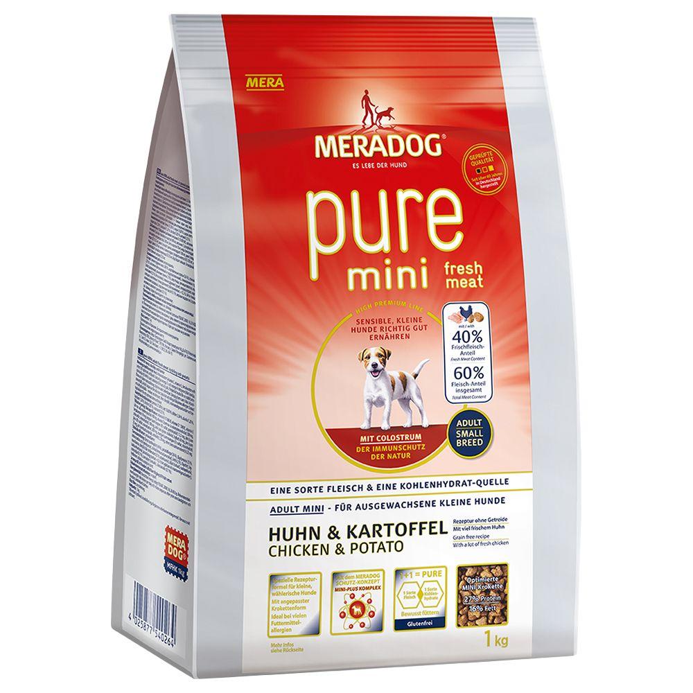 Meradog pure High Premium Mini Fresh Chicken & Potato