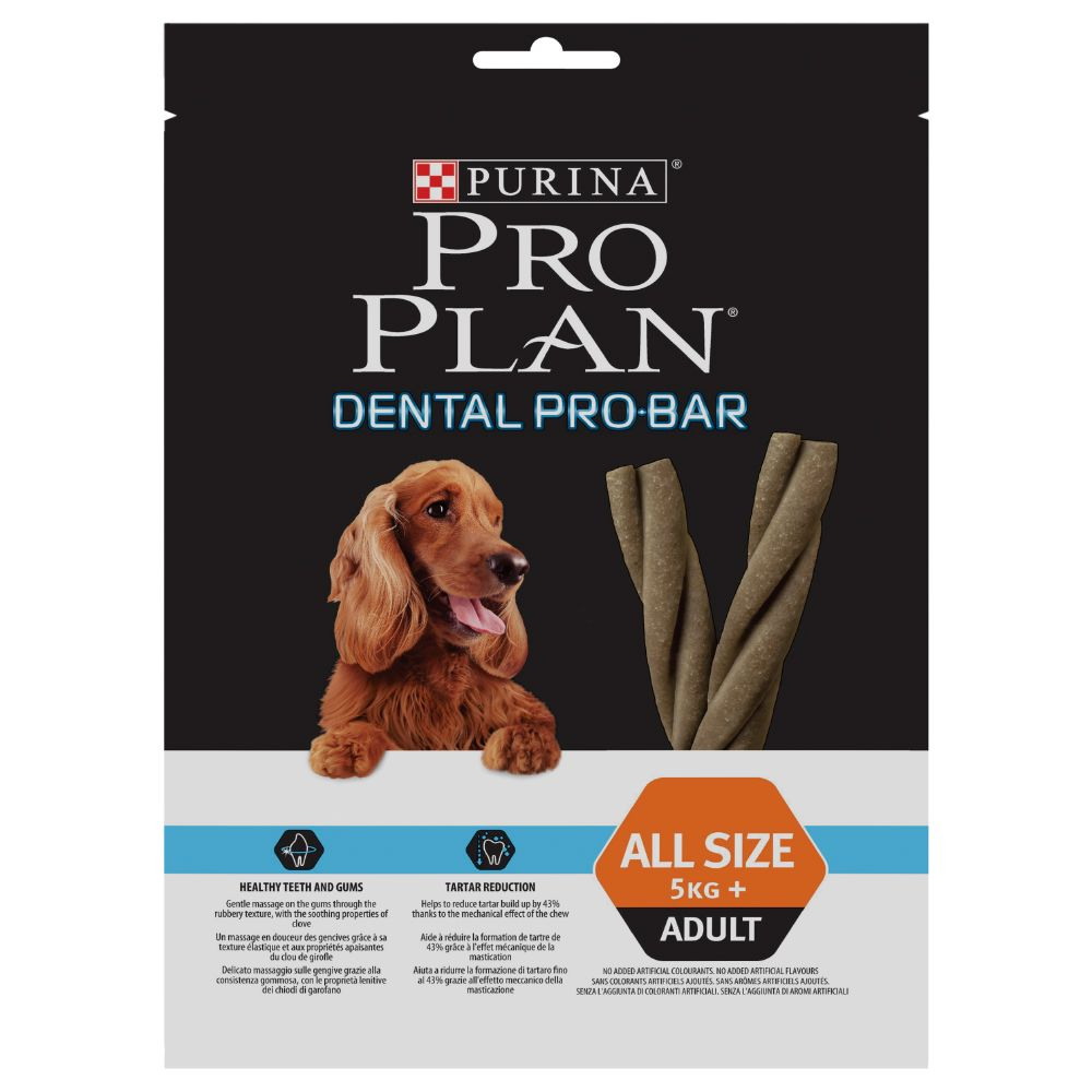 Image of Pro Plan Dental Pro Bar - Set %: 3 x 150 g