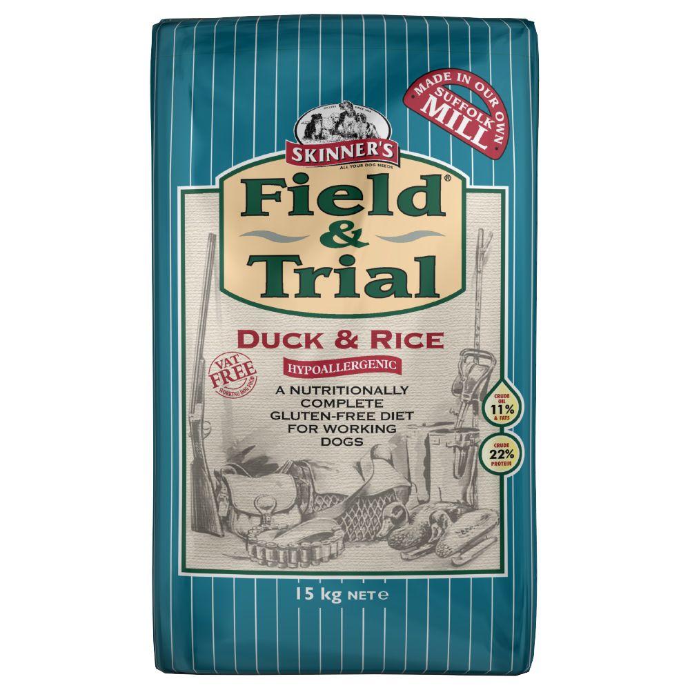 15kg Skinner's Field & Trial Duck & Rice Hypoallergenic Dry Dog Food