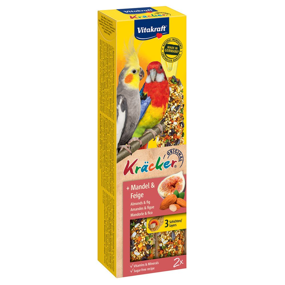 Vitakraft Parakeet - Crackers Almond 3 x 180g