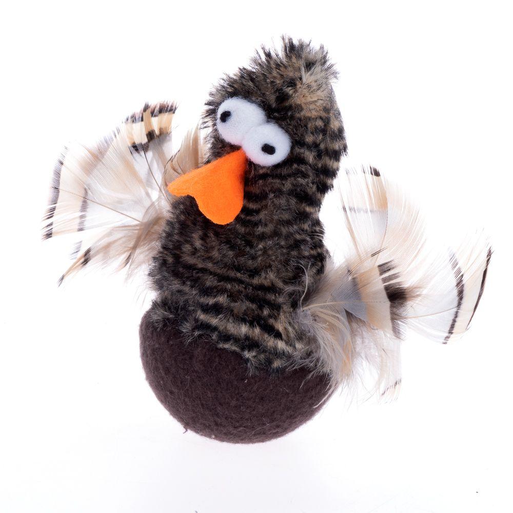 Chirping Rolling Duck kattleksak - 1 st