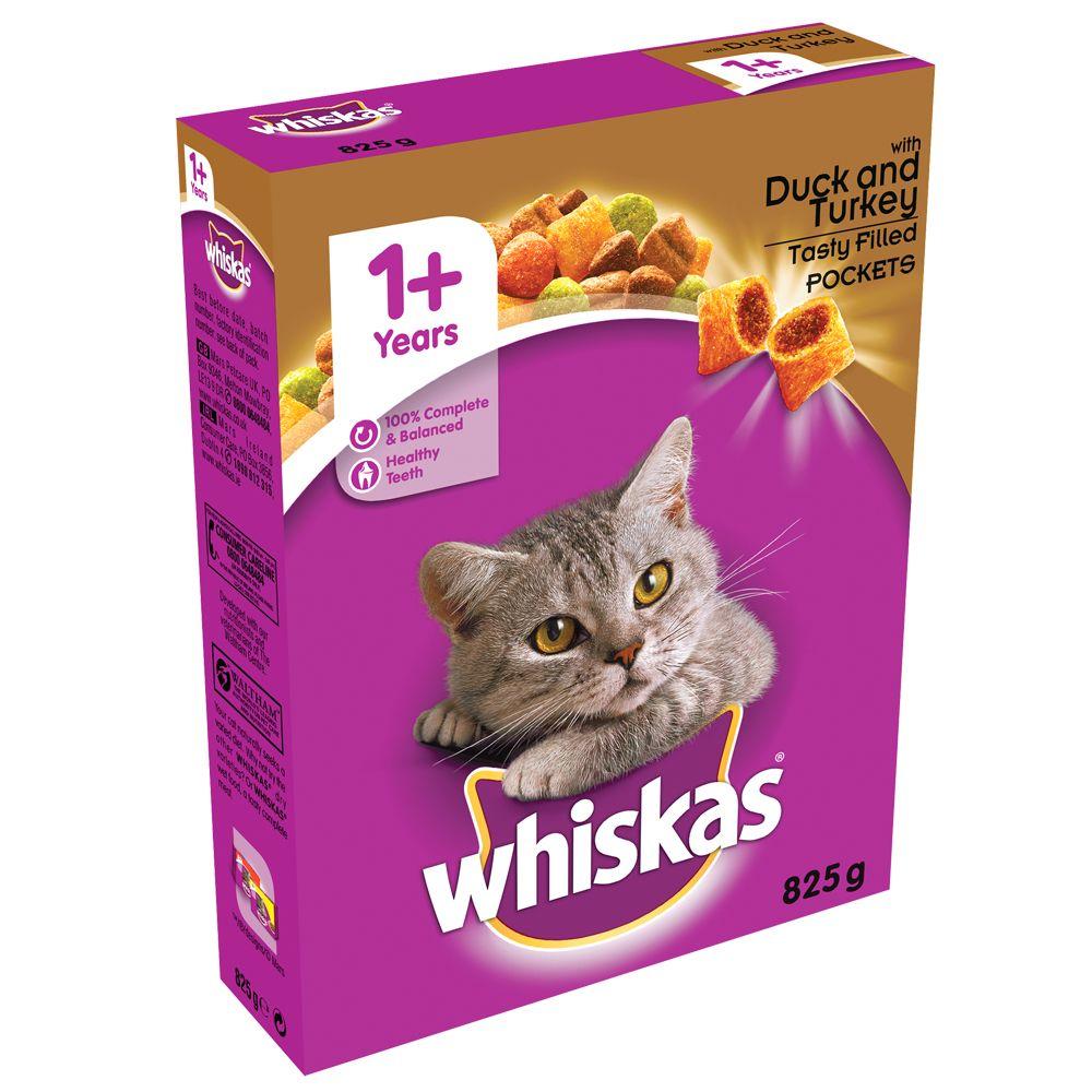 2kg Duck & Turkey Whiskas 1+ Dry Cat Food