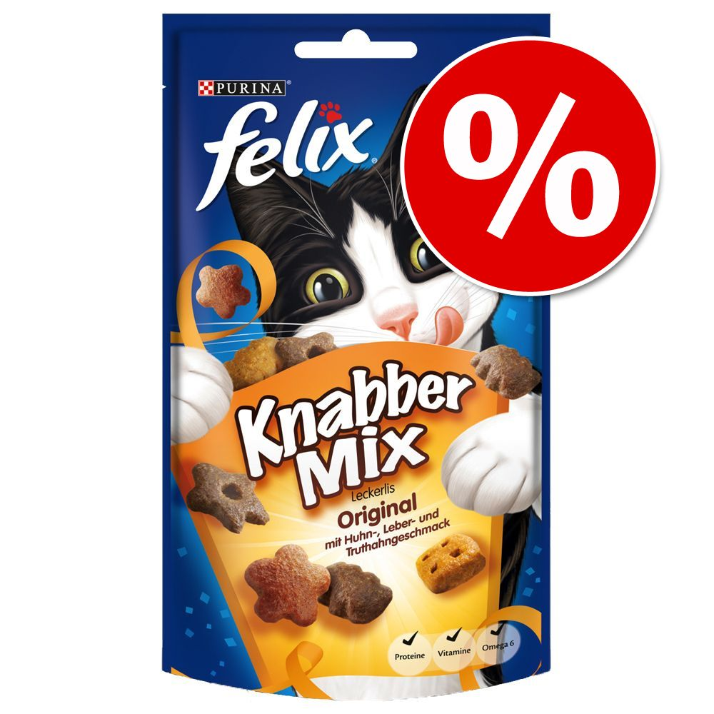 Image of Felix Party Mix - Set %: 3 x 60 g Mixed Grill