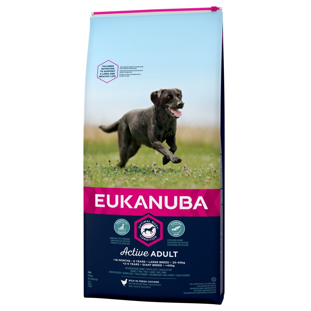 Eukanuba Active Adult Large Breed 15kg Chicken