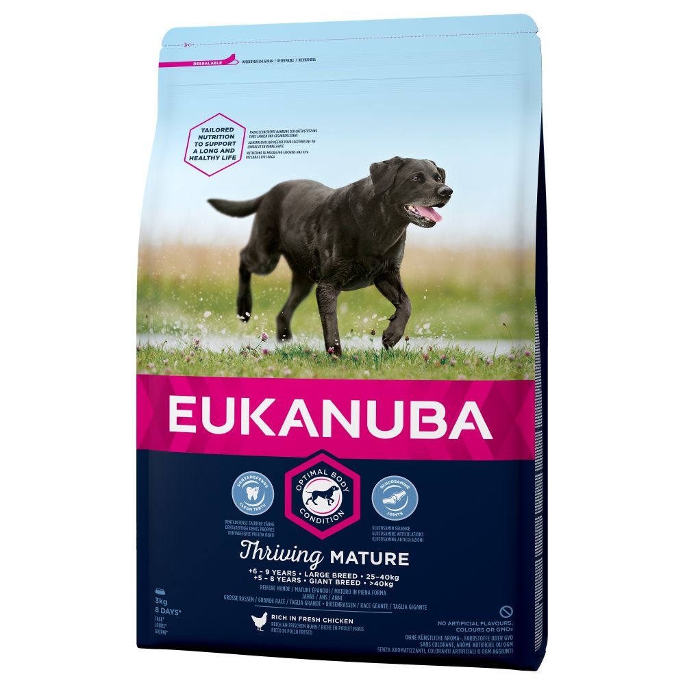 Chicken Large Breed Thriving Mature Eukanuba Dry Dog Food