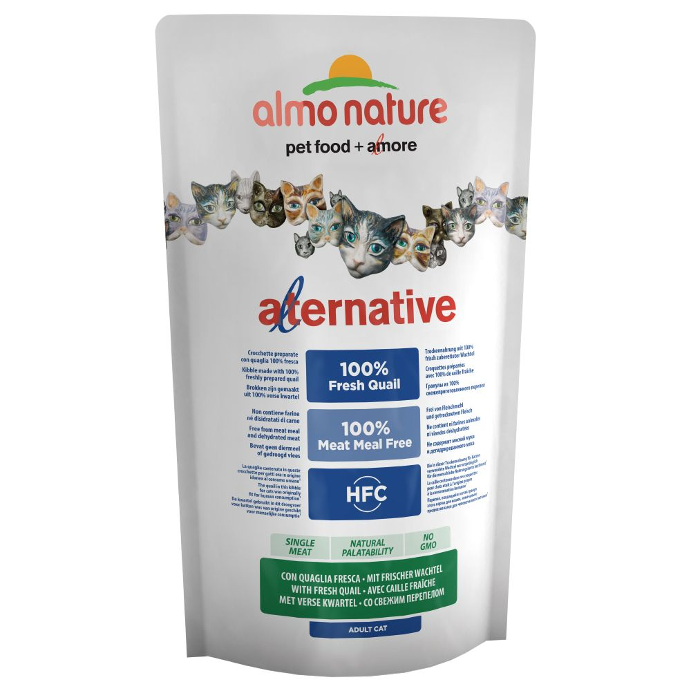 Bilde av Almo Nature Hfc Alternative Cat - Med Ferske Vaktler - 3 X 2 Kg