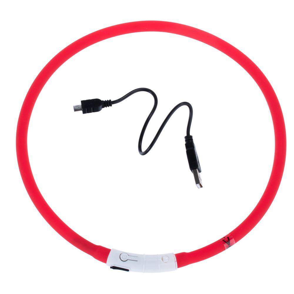 USB Dog Glow Collar