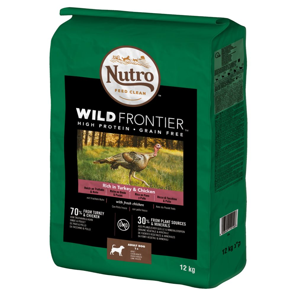 12kg Nutro Wild Frontier Dry Dog Food