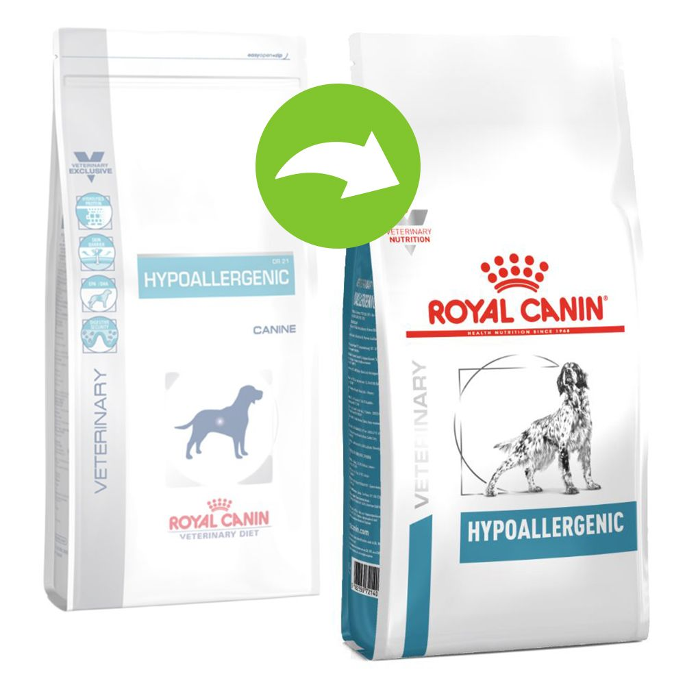 Royal Canin Hypoallergenic DR 21 - Veterinary Diet - Ekonomipack: 2 x 14 kg
