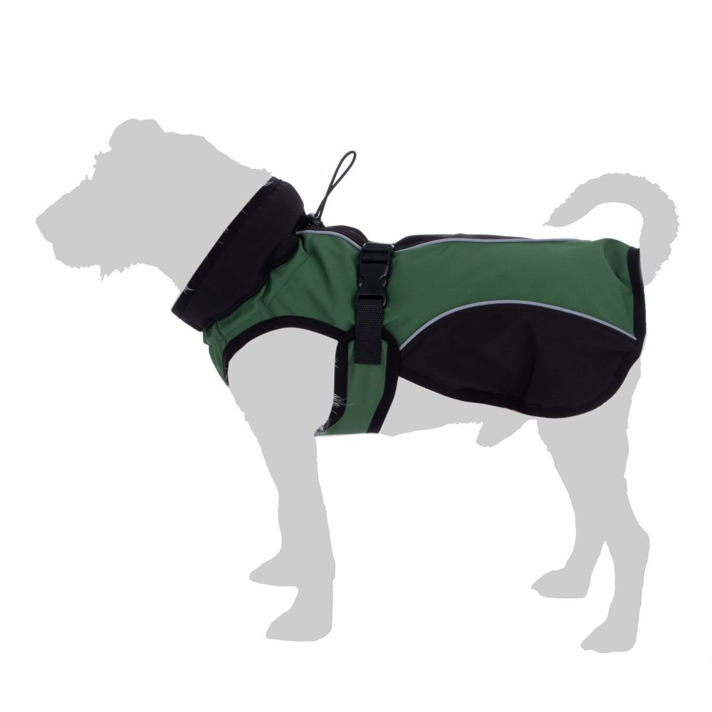 Softshell-Hundemantel - ca. 50 cm Rückenlänge
