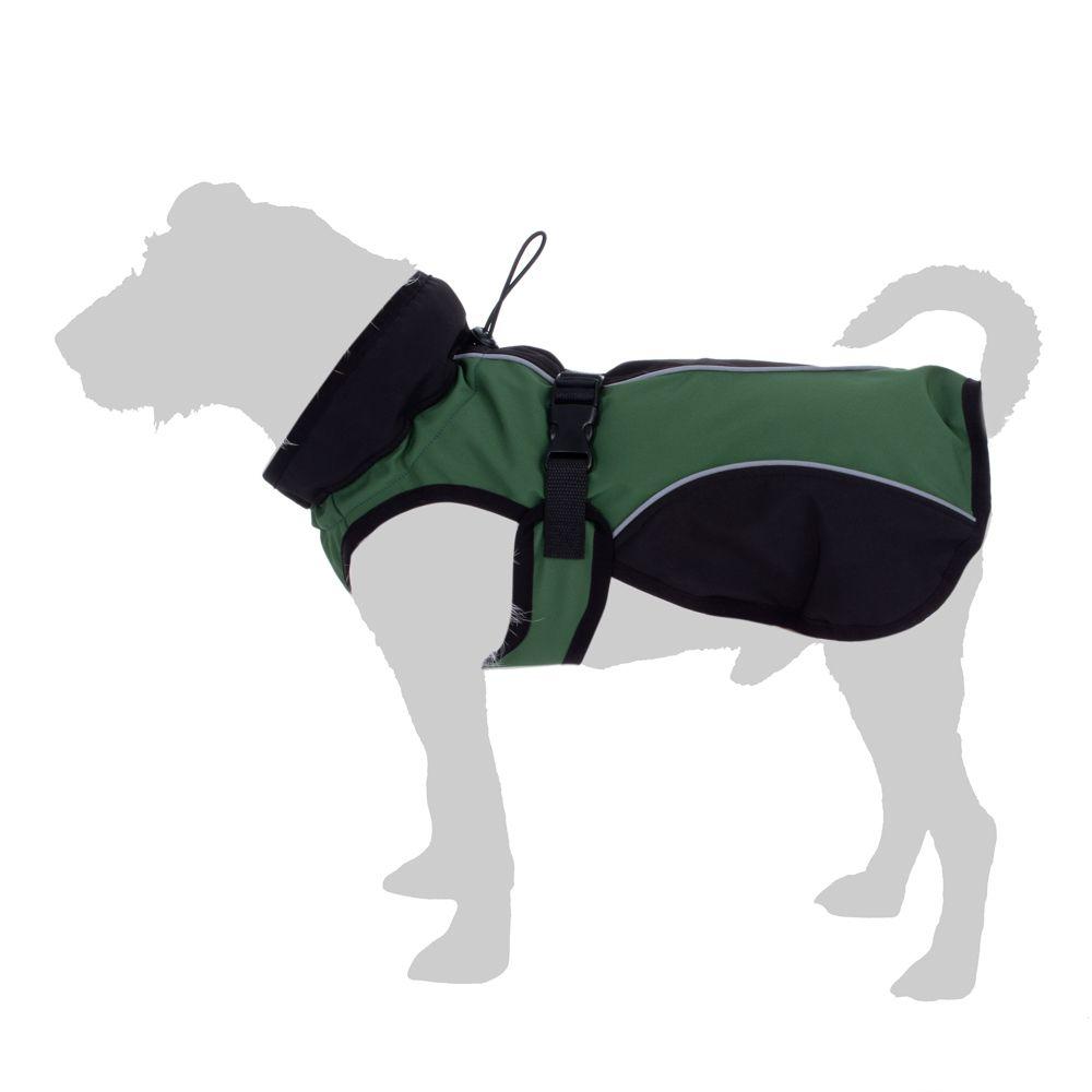 Casaco Softshell para cães - 45 cm de comprimento (aprox.)