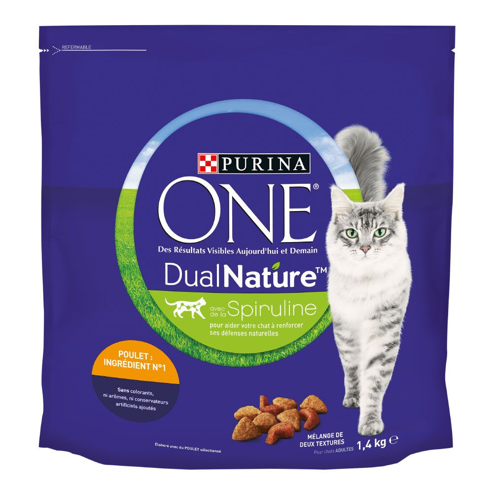 Purina ONE Dual Nature Kyckling - 1,4 kg