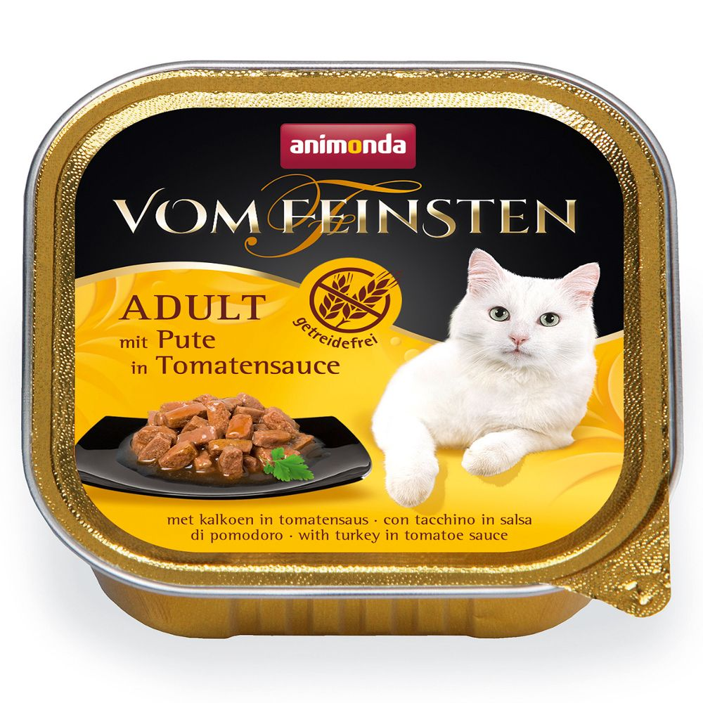 Animonda vom Feinsten Adult NoGrain in Sauce 6 x 100 g - Huhn in Karottensauce