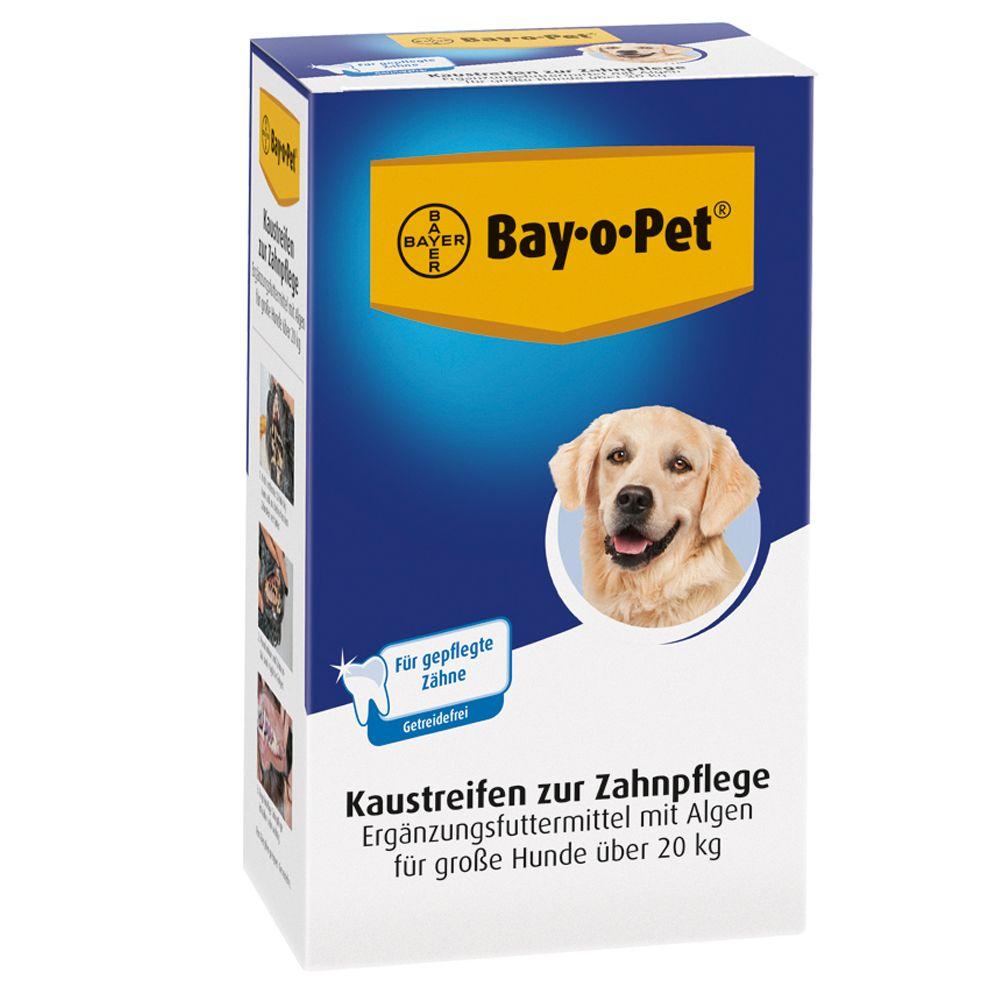 6x140g Bay-o-Pet grand chien Bandes à mâcher - Friandises pour Chien