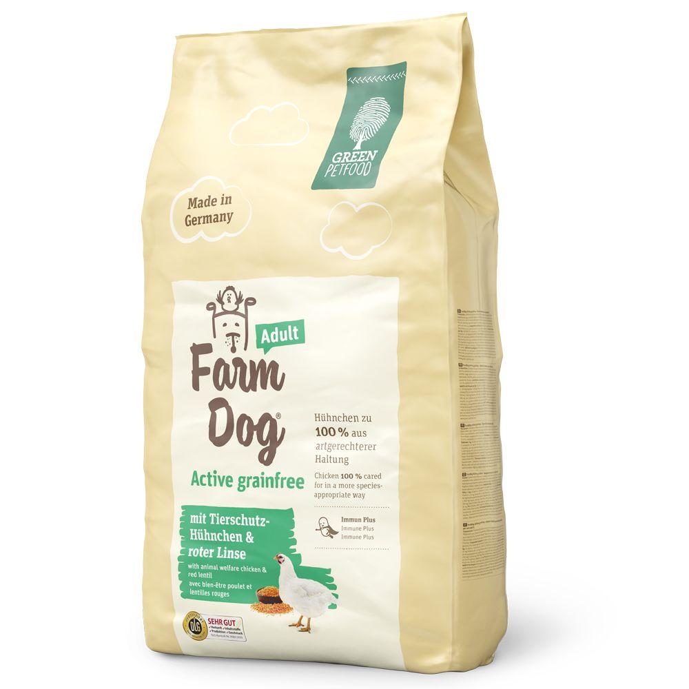 Green Petfood FarmDog Active Grainfree - Ekonomipack: 2 x 10 kg