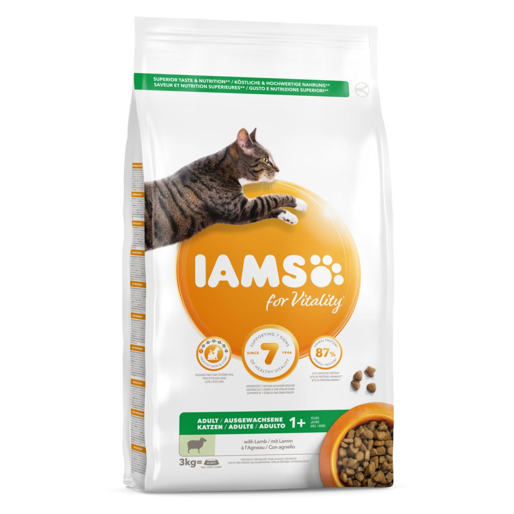 IAMSfor Vitality Adult Lamb Dry Cat Food