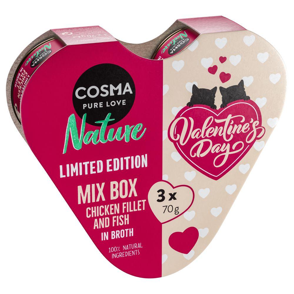 Cosma Nature Heart Box Valentin Edition - Tre olika sorter