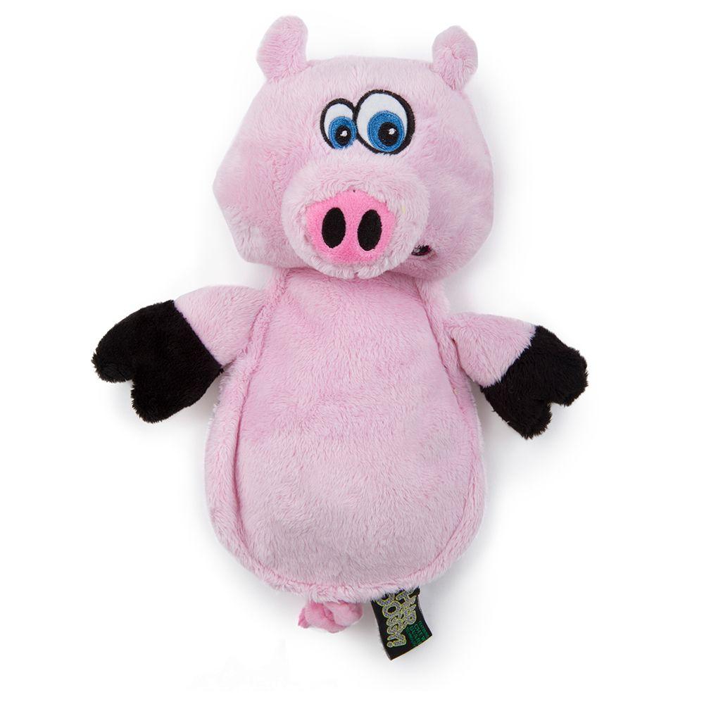 HEAR DOGGY!® Flattie Pig - L: ca L 24 x B 10 x H 30 cm