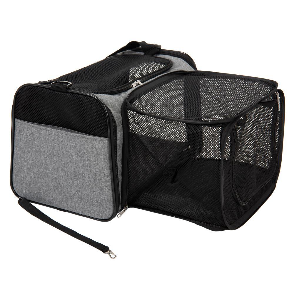 Onoen transportväska med hage - L 45 x B 26 x H 28,5 cm - grau