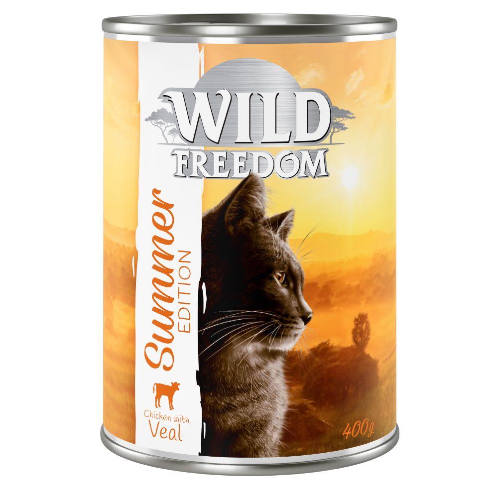 Wild Freedom Summer Edition: 6 x 400 g Venison & Chicken - 6 x 400 g