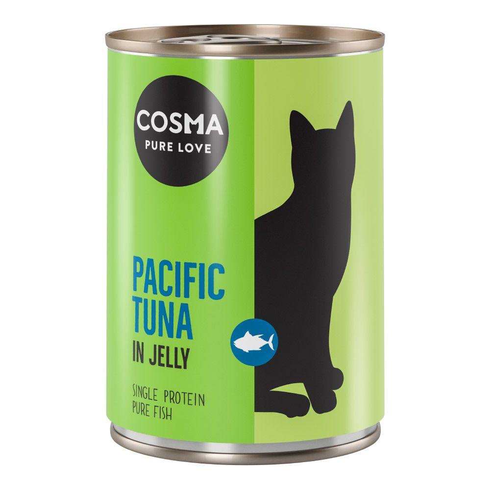 Cosma Original i gelé 6 x 400 g Skipjack tonfisk