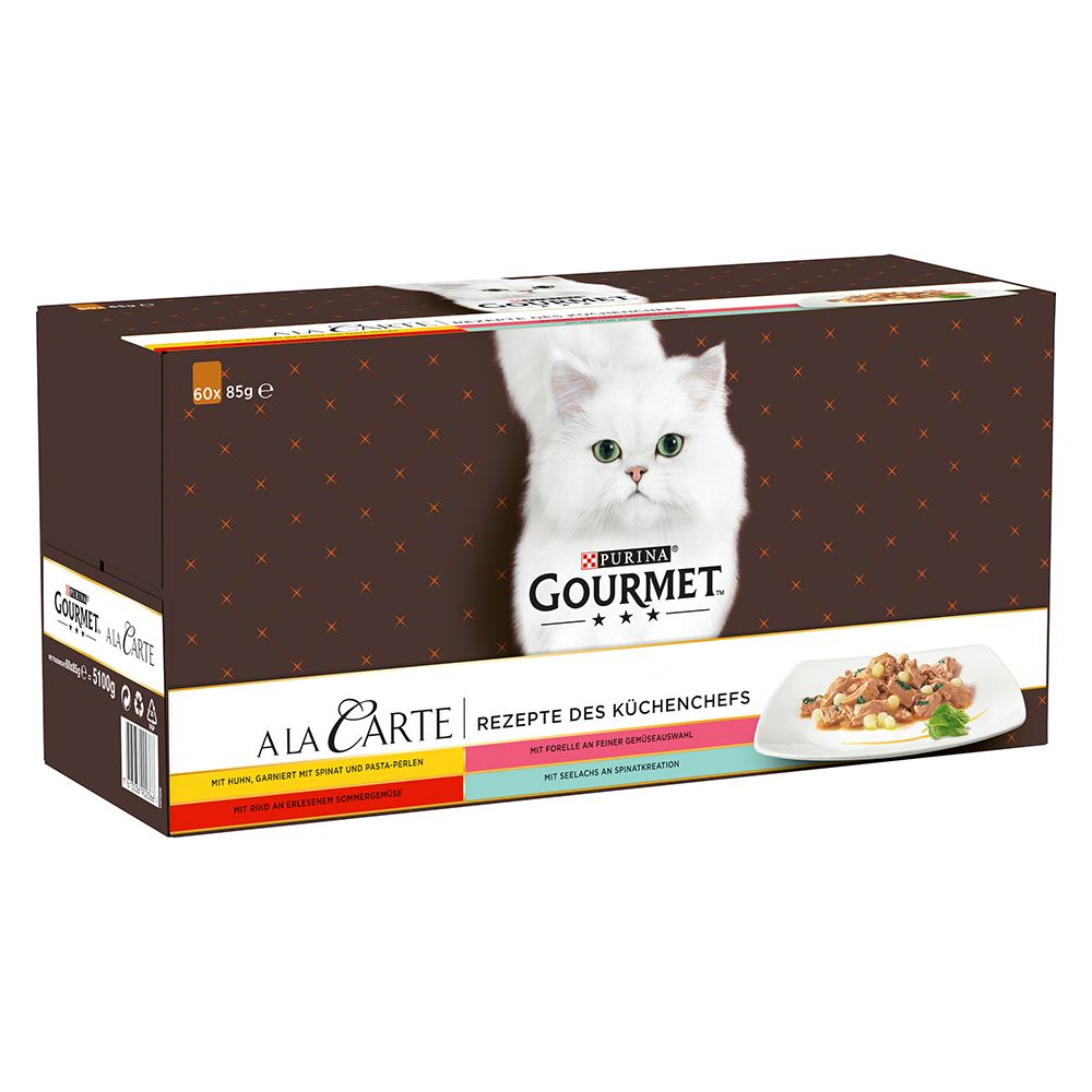 Chef's Recipe Selection A La Carte Gourmet Purina Wet Cat Food