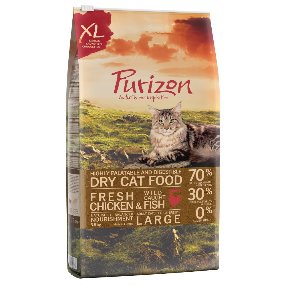 Adult Large Chicken & Fish Purizon Dry Cat Food