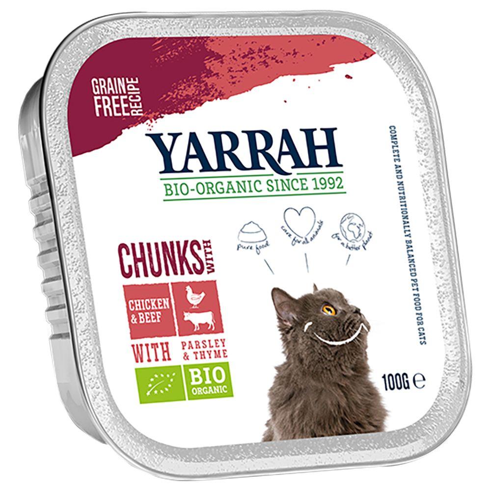 Image of Yarrah Bio 24 x 100 g - Bocconcini in Salsa con Pollo bio & Tacchino bio
